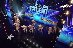 Điệu 'Vũ nông dân' gây bất ngờ tại Asia's Got Talent