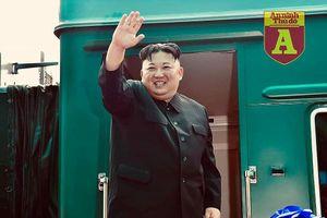 Đoàn tàu bọc thép chở ông Kim Jong-un đi qua miền Trung Trung Quốc