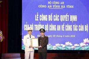 Đại tá Võ Trọng Hải giữ chức Giám đốc Công an tỉnh Hà Tĩnh