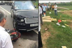 Ô tô Range Rover va chạm xe máy, 1 người tử vong