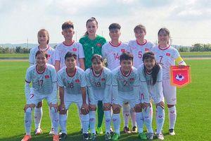 U19 nữ Việt Nam chia điểm cùng U19 nữ Myanmar