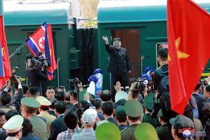 Tàu chở ông Kim Jong-un qua miền trung Trung Quốc, về Triều Tiên sớm nhất tối 4/3