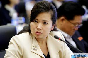 Bốn 'bóng hồng quyền lực' trong đoàn Chủ tịch Kim Jong-un