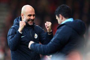 HLV Pep Guardiola khen Man City 'không tưởng' chỉ để đe dọa Liverpool