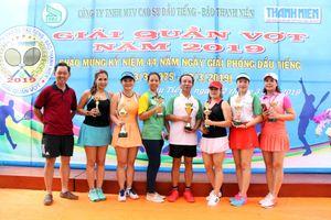 Hào hứng với giải quần vợt chào mừng 44 năm ngày giải phóng Dầu Tiếng (Bình Dương)