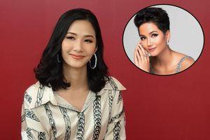 Hoàng Thùy: Tôi không áp lực trước thành tích Top 5 Miss Universe của H'Hen Niê