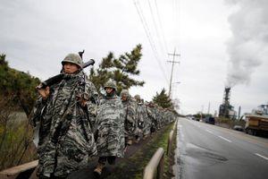 Hậu Thượng đỉnh Mỹ - Triều lần 2, Mỹ - Hàn đình chỉ tập trận chung