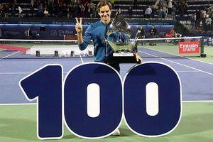 Federer đoạt danh hiệu ATP thứ 100 trong sự nghiệp