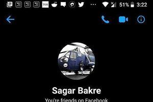 Mẹo bật Dark Mode trên Facebook Messenger