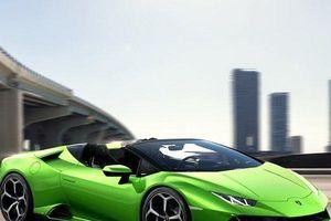 Chiêm ngưỡng mãnh thú mui trần Lamborghini Huracan EVO Spyder