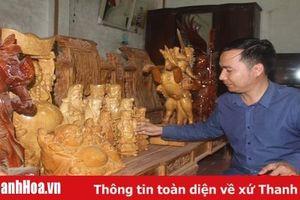 Phát triển đồ gỗ mỹ nghệ gắn kết du lịch biển Hải Tiến