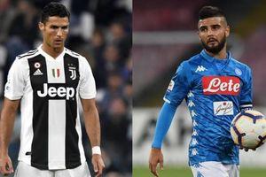 Đội hình dự kiến Napoli - Juventus: Koulibaly đối đầu Ronaldo