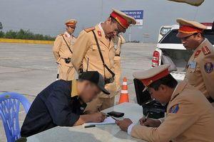 Phát hiện, xử phạt 182 lái xe dương tính với ma túy
