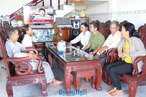 Sơn Tịnh (Quảng Ngãi): Hoàn thành Đại hội Mặt trận cấp cơ sở