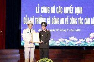 Đại tá Võ Trọng Hải được bổ nhiệm giữ chức Giám đốc công an tỉnh Hà Tĩnh