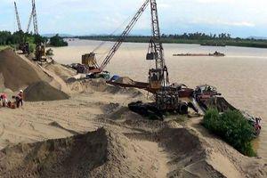 Hà Nội tăng cường quản lý hoạt động khai thác cát, sỏi trái phép