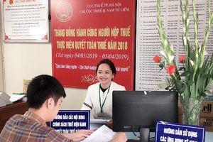 Hà Nội đồng loại triển khai Tháng đồng hành cùng người nộp thuế thực hiện quyết toán thuế