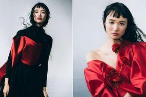 Hoa hậu Nhật Bản 2012 trở thành 'nàng thơ' của NTK Phương My