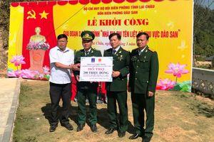 Hội CCB Tập đoàn khởi công xây dựng Nhà bia tưởng niệm các Anh hùng liệt sĩ tại Lai Châu