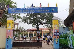 Nghi án thầy giáo dâm ô hàng chục học sinh tiểu học ở Bắc Giang