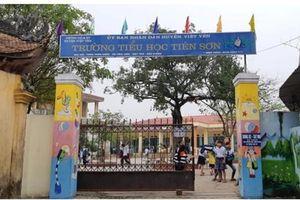 Bộ Giáo dục và Đào tạo chỉ đạo làm rõ vụ thầy giáo dâm ô hàng loạt học sinh tiểu học ở Bắc Giang