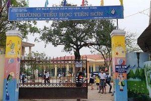 Thầy giáo bị tố dâm ô nhiều học sinh tiểu học ở Bắc Giang nói gì trong bản tường trình?