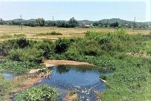 Quảng Ngãi: Tập trung xử lý ô nhiễm ở KCN, CCN và làng nghề