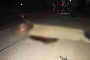 Xe bồn đâm xe máy, người đàn ông tử vong tại chỗ