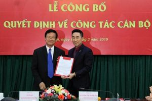 Ông Nguyễn Hải Anh nhận quyết định làm Phó Chủ tịch, Tổng Thư kí Hội Chữ thập đỏ Việt Nam