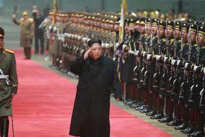 KCNA: Hình ảnh đầu tiên Chủ tịch Kim Jong-un đã về tới Triều Tiên