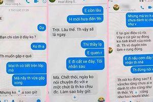 Đoàn Thanh tra Sở GD-ĐT Thái Bình xác minh vụ thầy giáo 'nhắn tin gạ tình nữ sinh'