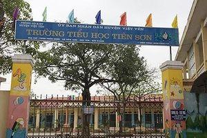 Điều tra nghi án thầy giáo dâm ô học sinh lớp 5 ở Bắc Giang