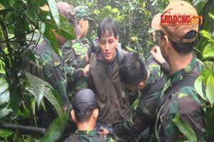 Xem bộ đội biên phòng băng rừng bắt đối tượng ôm 60.000 viên ma túy