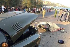 2 chiến sĩ cảnh sát tử vong sau va chạm xe Jeep
