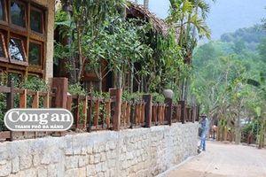 Yêu cầu tháo dỡ khu nghỉ dưỡng 'chui' trong rừng phòng hộ