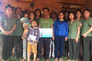 Hội phụ nữ công an Đắk Nông với nhiều hoạt động thiện nguyện