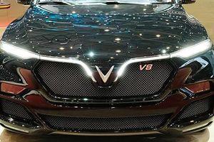 Xe ôtô VinFast Lux V8 Limited của Việt Nam đến Thụy Sỹ