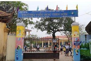 Thông tin mới vụ thầy giáo bị tố sàm sỡ học sinh tiểu học ở Bắc Giang