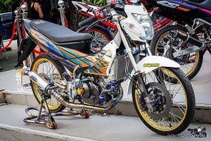 Bản độ Honda Sonic 125 khủng, đẹp như siêu xe của tay chơi Thái Lan