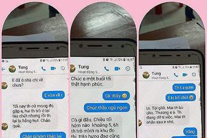 Đình chỉ công tác thầy giáo bị tố nhắn tin gạ tình nữ sinh lớp 10 tại Thái Bình