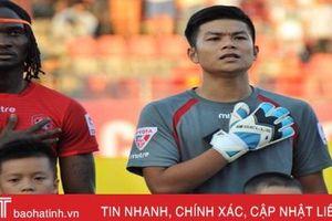 Thủ môn quê Hà Tĩnh dẫn dầu danh sách bình chọn vòng 2 V.League 2019