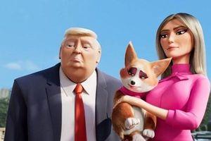 Tổng thống Mỹ Donald Trump trở thành nhân vật phim hoạt hình