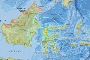 Động đất mạnh tại Indonesia, không có khả năng xảy ra sóng thần