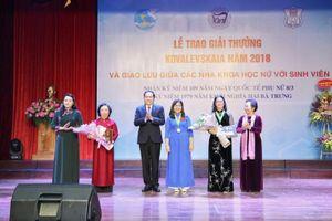 Khẳng định bản lĩnh phụ nữ Việt Nam trong lĩnh vực khoa học công nghệ
