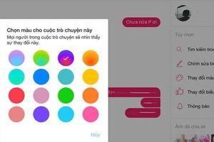 Facebook Messenger vừa cập nhật hiệu ứng đổi màu gradient cực đẹp, đây là cách để bạn kích hoạt nó