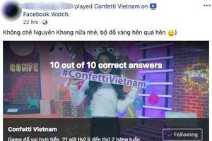 Confetti Vietnam khiến fan mừng hụt vì tưởng Sam quay lại dẫn chương trình