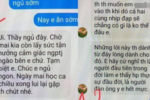 Tạm đình chỉ công tác thầy giáo bị tố nhắn tin gạ tình nữ sinh lớp 10