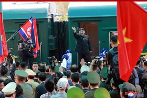 Đoàn tàu bọc thép của ông Kim Jong-un về tới Triều Tiên sau hành trình dài 60 tiếng