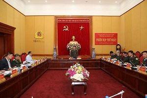 Tiểu ban An ninh – Y tế thuộc Ủy ban quốc gia ASEAN họp phiên họp thứ nhất