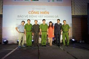Tiếp nhận đề cử Giải Cống hiến bảo vệ động vật hoang dã lần thứ ba